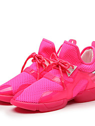 Scarpe Sneakers Da donna Tulle Verde / Rosso / Bianco
