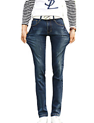 Spring summer 2016 new men's trousers stretch jeans stretch jeans business feet