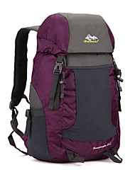 Unisex Canvas / Nylon Sports / Outdoor Backpack / Sports & Leisure Bag / Travel Bag-Purple / Blue / Green / Yellow / Red