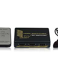HDMI Intelligent Mini Switch  5X1  V1.4   4Kx2K with CE FCC RoSH Certificates