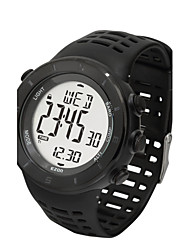 Sports Watch Ladies'LCD / Altimeter / Compass / Pulse Meter / Thermometer / Calendar / Chronograph / Water Resistant / Dual Time Zones /