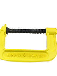 "REWIN® TOOL Ductile Cast Iron Heat Treatment  G-type Clamp with 4"" size"