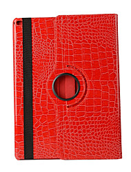 360 Degree Crocodile Pattern PU Leather Flip Cover Case for iPad Mini 4 (Assorted Colors)