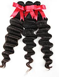 economici dell'onda profonda vergine prodotti per i capelli capelli della regina 3pcs brasiliani dell'onda profonda brasiliane vergini
