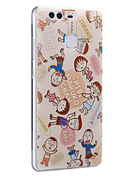 Cute Maruko Friends Soft Protective Back Cover Ultra Thin Huawei Case for Huawei Ascend P9