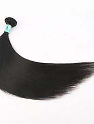 """1 pc / lotto 12 """"-30"""" estensioni dei capelli capelli vergini peruviani dritti umani al 100% i capelli non trattati remy peruviano tesse"""