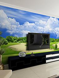 jammory art déco papier mural contemporain couverture, papier de toile ciel bleu des peintures murales de papier peint