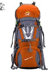 60 L sac à dos Sac à Dos de Randonnée Camping & Randonnée Etanche Résistant à la poussière Multifonctionnel Térylène