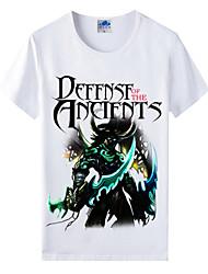 Flaming Light® World of Warcraft Wow Series Heroes Illidan Cosplay T-Shirt Cotton Lycra