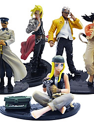 Alchemist Anime Action Figure 15CM Model Toy Doll Toy(5 Pcs)