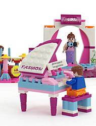 diorama Figurines de jeux Jenga briques instruments de musique filles jouets de filles miniatures jouets pour les enfants
