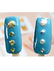 100pcs-Bijoux pour ongles / Paillettes-Doigt / Orteil- enAdorable-5*3*1