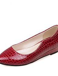Women's Shoes  Wedge Heel Heels / Comfort / Round Toe Heels Outdoor / Dress Black / Red / White