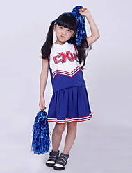 Cheerleader Costumes Children's Western Style Performance 2 Pieces Outfits Dance Costumes