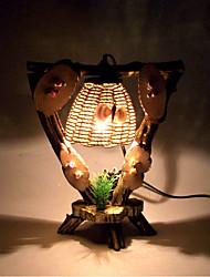 Creative Wood  Light Triangle Lamp Decoration Desk Lamp Bedroom Lamp Gift for Kid