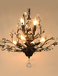 Lustres ,  Vintage Pintura Característica for Cristal MetalSala de Estar Quarto Sala de Jantar Quarto de Estudo/Escritório Quarto das