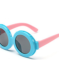Kids Photochromic 100% UV Butterfly Full-Rim Round Sunglasses(Random Color)