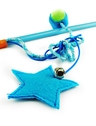 Cat Toy Pet Toys Teaser Star Plastic