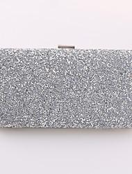 Minaudière / Sac de soirée / Portefeuille / Mobile Bag Phone-Or / Argent / Noir-Minaudière-Métallique-Femme
