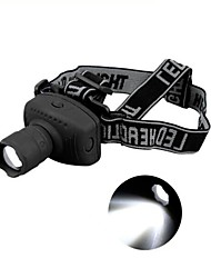 Lights LED Flashlights/Torch / Headlamps LED 500 Lumens 3 Mode LED AAA Adjustable FocusCamping/Hiking/Caving / Everyday Use /