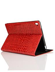 motif de peau de crocodile étui en cuir PU 9,7 pouces avec support pour iPad pro 9.7