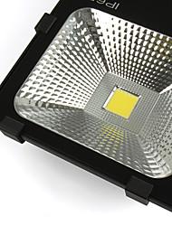 80 Вт LED прожекторы 1 Высокомощный LED 7000 lm Тёплый белый / Холодный белый Декоративная / Водонепроницаемый V 1 шт.