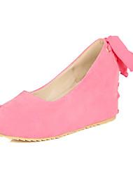Women's Shoes Chunky Heel Heels Heels Casual Black / Pink / Beige