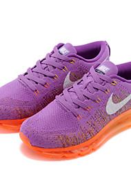nike air max free's flyknit vrouwen loopschoenen trainers sneakers zwart / roze / paars