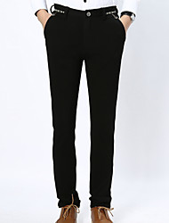 Spring summer 2016 new men's casual pants slim trousers trousers pure Korean fashion jeans youth
