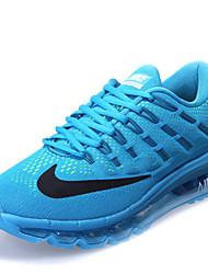 nike air max 2016 mannen sneaker schoenen zwart / blauw / groen / zwart en rood
