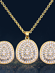 Women Vintage Gold / Gold Plated / Alloy / Rhinestone / Imitation Pearl Sets