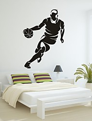 Romance / Mode / Sports Stickers muraux Stickers avion,PVC M:42*61cm / L:55*78cm