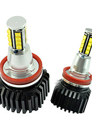 2PCS Super Bright 128W CREE LED Can-bus Error Free Angel Eye for B-MW E82 Aluminimum Housing