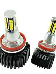 2pcs super lumineux 128W LED CREE can-bus sans erreur oeil d'ange pour b-mw E82 logements de aluminimum