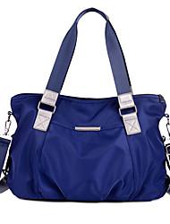 Feminino Náilon Casual Bolsa de Ombro / Tote Roxo / Azul / Preto / Colorido