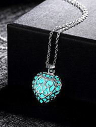Women's Pendant Necklaces Alloy Fashion Green Blue Light Blue Jewelry Wedding Party Daily Casual Sports 1pc