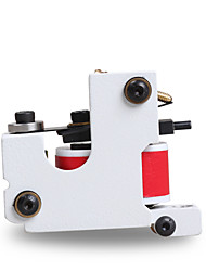 1 pcs New Handmade Tattoo Machine White Color 10 Wrap Coil Tattoo Supplies For Liner Shader