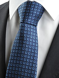 New Navy Dark Blue Boxes Men's Tie Necktie Formal Wedding Holiday Gift KT0007