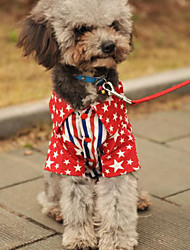 Beautiful Star Pattern Pet Shirt