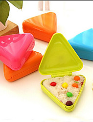 Triangle Sushi Mold Big Onigiri Rice Ball Mold Press Maker Kitchen Tool (Random Color)