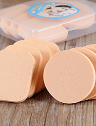 8PCS Dry And Wet Dual Purpose Make Up Powder Puff