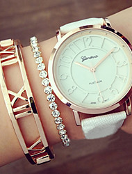 Geneva Quartz Analog WristWatch Fashion Women's Watches Hollow Numerals  Montres Femme Girls Watch Gift idea Cool Watches Unique Watches