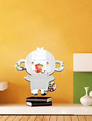 Wall Stickers Refrigerator The Monkey Design Lens 3 D Yakeli Posts