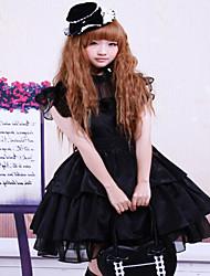 Steampunk®Rayon Sash Ruffles Gothic Lolita Dress
