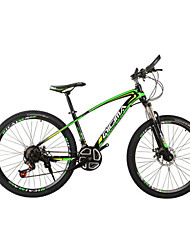 "fietsen 21 versnellingen dubbele schijfremmen 26 ""mountainbike koolstofstaal"