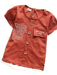 Boy's Cotton Tee,Summer ½ Length Sleeve