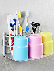 Toothbrush Holder Anodizing Wall Mounted 30*23*18cm Aluminum Contemporary
