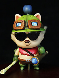 League of Legends Teemo 8CM Figure Anime Azione Giocattoli di modello Doll Toy