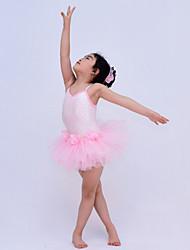 Ballett / Moderner Tanz / Aufführung-Kleider(Rosa,Polyester / Pailletten / Tüll / Elastan,Ballett / Moderner Tanz / Aufführung) - für