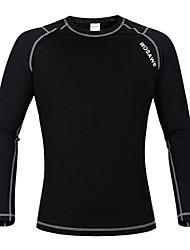 Wosawe® Cycling Jacket Unisex Long Sleeve Bike Thermal / Warm / Fleece Lining / CompressionFleece Jackets / Base Layers / Jersey /